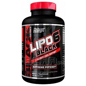 Nutrex Lipo-6 Black Weight Loss Support 120kaps. 1/1
