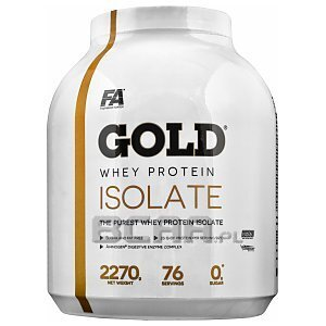 Fitness Authority Gold Whey Protein Isolate + L-Carnitine 1000 Shot 2270g + 2x100ml GRATIS! 1/1