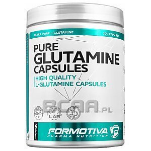 Formotiva Pure Glutamine Capsules 300kaps. Wyprzedaż! 1/1