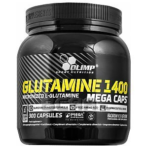 Olimp Glutamine 1400 Mega Caps 300kaps. 1/2