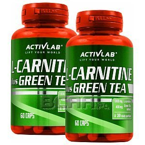 Activlab L-Carnitine Plus Green Tea 2x60kaps. [promocja] 1/1