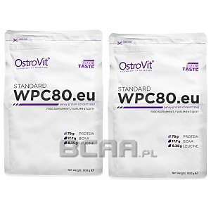 OstroVit WPC 80.eu Standard 2x900g = 1800g 1/2