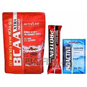 Activlab BCAA Xtra Instant + High Whey Protein Bar + Isoactive 800g + 80g + 31,5g 1/1