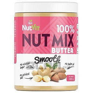 NutVit 100% MIX Butter Smooth 500g 1/1