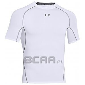 Under Armour Rashguard Męski Heatgear Armour Compression SS 1257468-100 biały 1/3