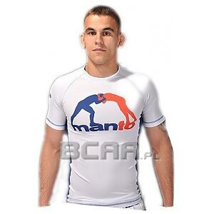Manto Rashguard Short Sleeve T-Shirt Bialy  1/1