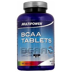 Multipower BCAA Tablets 180tab. 1/1