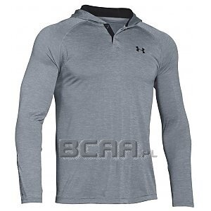 Under Armour Bluza Męska Tech Popover Henley 1274511-035 szary 1/6