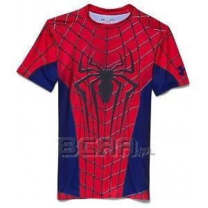 Under Armour Rashguard Męski Amazing Spiderman Compression Shirt 1254143-600 mix 1/4