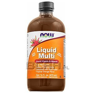 Now Foods Liquid Multi 473ml 1/2