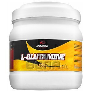 Alpha Male L-Glutamine 400g 1/2
