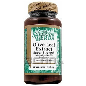 Swanson Olive Leaf Extract 750mg 60kaps. 1/1
