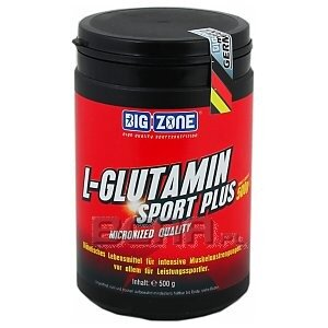 Big Zone L-glutamin Sport Plus 500g 1/1