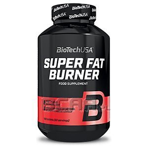 BioTech USA Super Fat Burner 120tab. 1/1