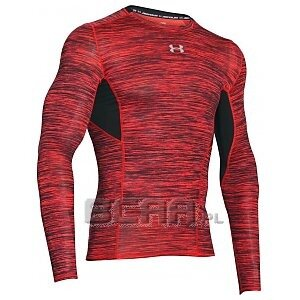 Under Armour Rashguard Męski HG CoolSwitch Comp LS 1275057-984 czerwony 1/6