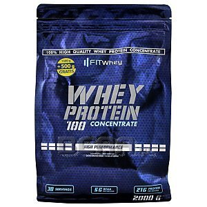 Fit Whey Whey Protein 100 Concentrate 2000g 1/2