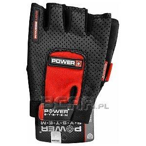 Power System Rękawice Treningowe Power Plus (PS-2500) czarno-czerwone 1/1