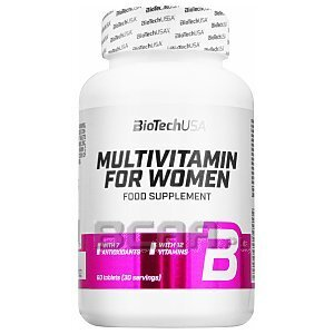 BioTech USA Multivitamin for Women 60tab. 1/1