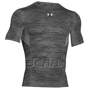 Under Armour Rashguard Męski HG CoolSwitch Comp SS 1271334-040 szary 1/6