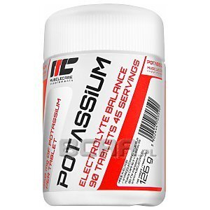 Muscle Care Potassium 90tab. 1/2
