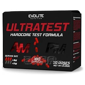 Evolite Ultra Test Hardcore Test Formula 180kaps. 1/1