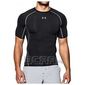 Under Armour Koszulka Męska Heatgear Armour Compression SS 1257468-001 czarny 1/4