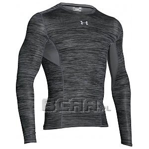 Under Armour Rashguard Męski HG CoolSwitch Comp LS 1275057-040 ciemnoszary 1/6