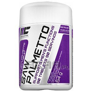 Muscle Care Saw Palmetto 90tab. 1/2