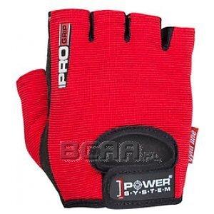Power System Rękawice Treningowe Pro Grip (PS-2250) czarno-czerwone 1/1