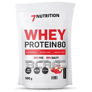 7Nutrition Whey Protein 80 500g 1/1
