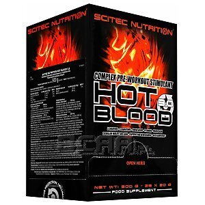 Scitec Hot Blood 3.0 25 x 20g 1/1