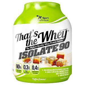 Sport Definition That's the Whey Isolate 2100g [promocja] 1/4