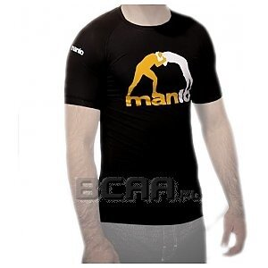 Manto Rashguard Short Sleeve T-Shirt Czarny  1/1