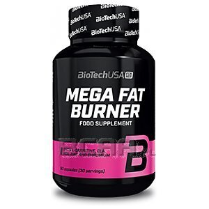 BioTech USA For Her Mega Fat Burner 90kaps. 1/2