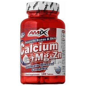 Amix Calcium + Mg + Zn 100tab. 1/1