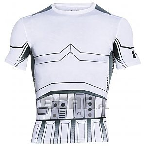 Under Armour Rashguard Męski Star Wars Trooper Compression 1273450-100 biały 1/4
