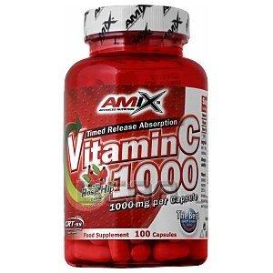 Amix Vitamin C 1000 Rose Hip 100kaps. 1/1