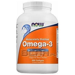 Now Foods Omega 3 500kaps. [promocja] 1/1