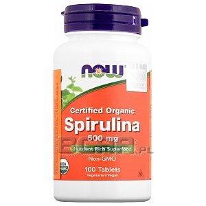 Now Foods Spirulina 100tab. 1/1