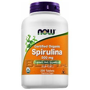 Now Foods Spirulina 200tab. 1/2
