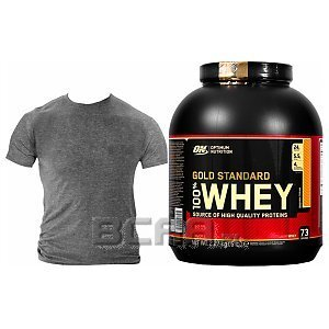 Optimum Nutrition 100% Whey Gold Standard 2240-2270g + T-Shirt Gratis! 1/1