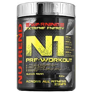 Nutrend N1 Pre-Workout 510g 1/1