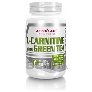 Activlab L-Carnitine Plus Green Tea 60kaps. 1/1