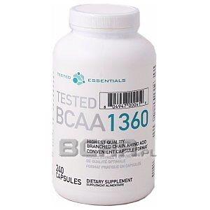 Tested Nutrition Tested BCAA 1360 240kaps. 1/1
