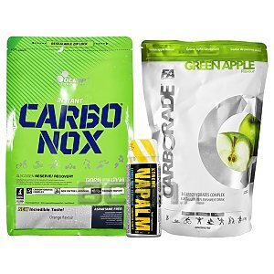 Olimp / FA Carbonox + Carborade + Napalm Free! 1000g + 1000g + 60ml 1/1