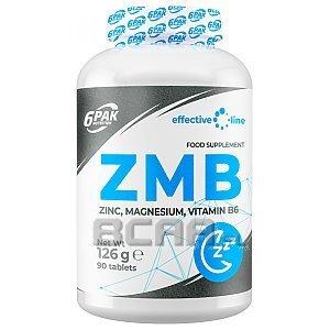 6Pak Nutrition Effective Line ZMB 90tab. 1/1