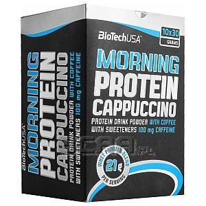 BioTech USA Morning Protein Cappuccino 10 x 30g 1/2