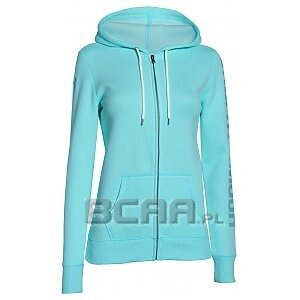 Under Armour Bluza Damska Storm Rival Cotton Full-Zip Hoody niebieski 1/5