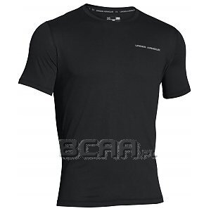 Under Armour Koszulka Męska Charged Cotton SS T 1277085-001 czarny 1/9