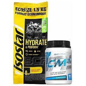 Isostar Hydrate & Perform Koncentrat + Trec CM3 Powder 1500g+500g [promocja] 1/3